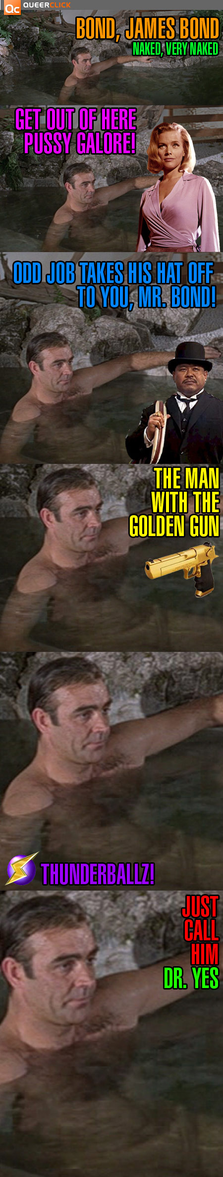 Sean Connery's James Bond Has 007 Inches