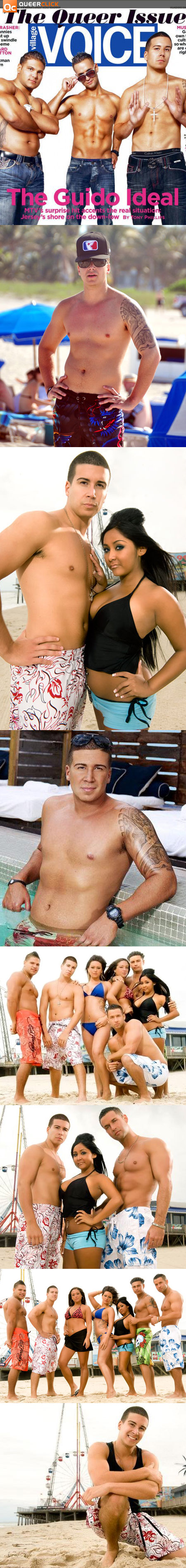 Jersey shore vinny naked in playgirl sorry, that