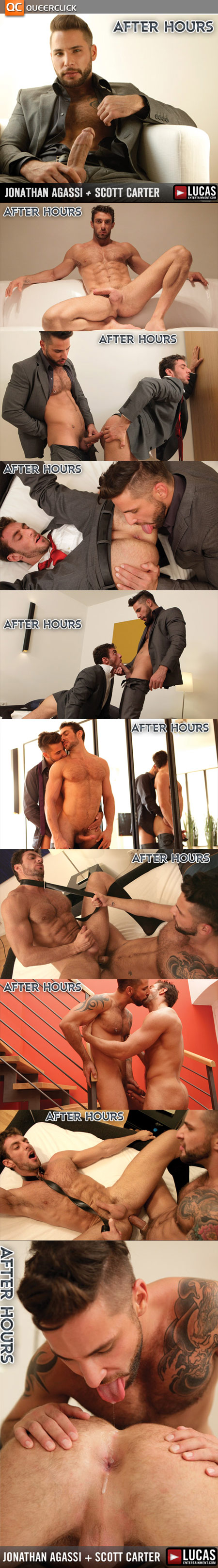 Jonathan Agassi and Scott Carter in After Hours at Lucas Entertainment