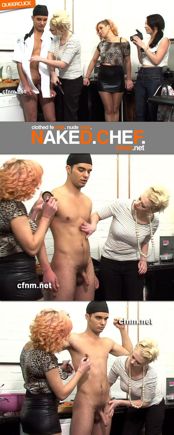 CFNM.net: Naked Chef(2)