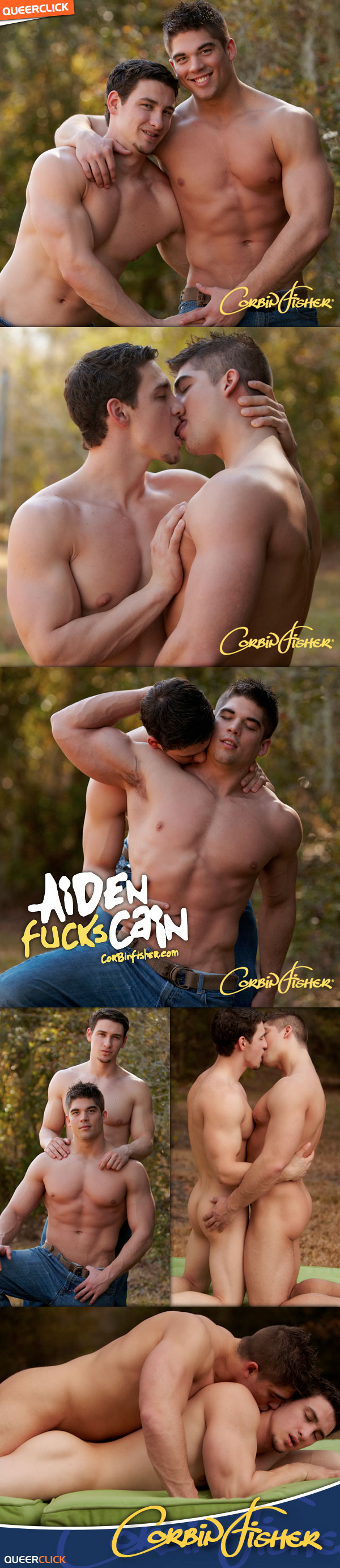 Corbin Fisher: Aiden Fucks Cain