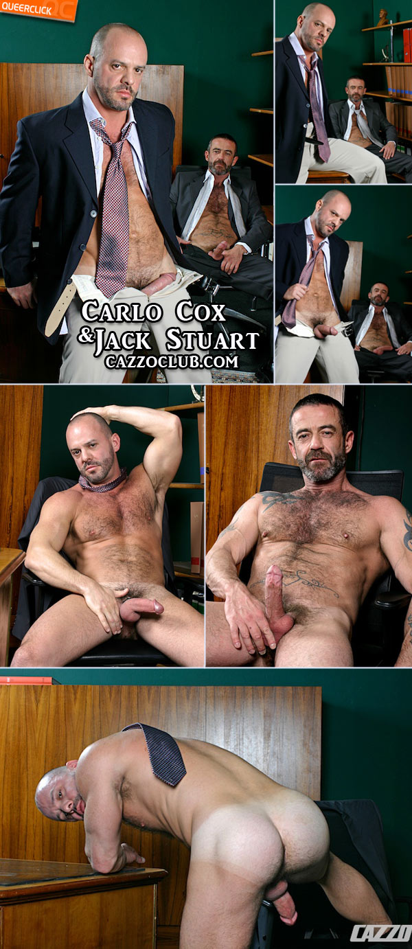 cazzo club jack stuart carlo cox Two male pigs having sex on a office desk. Rimming asses, sucking cocks and ...