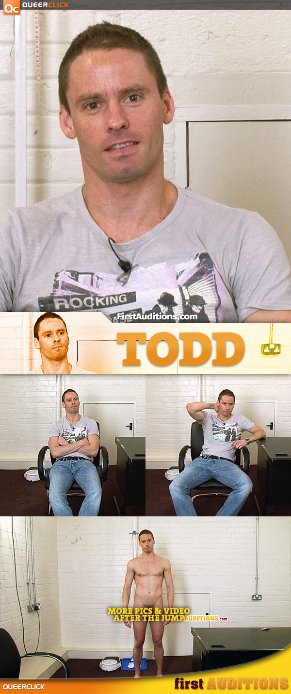 First Auditions: Todd