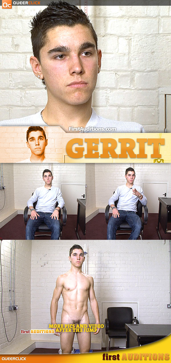 First Auditions: Gerrit