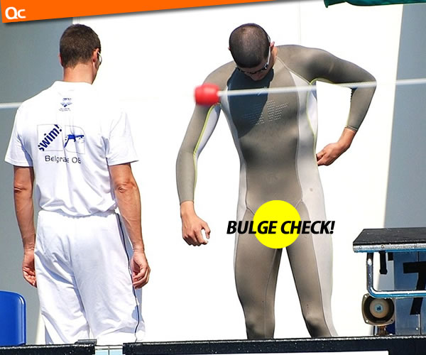 Swimmer Bulge Check