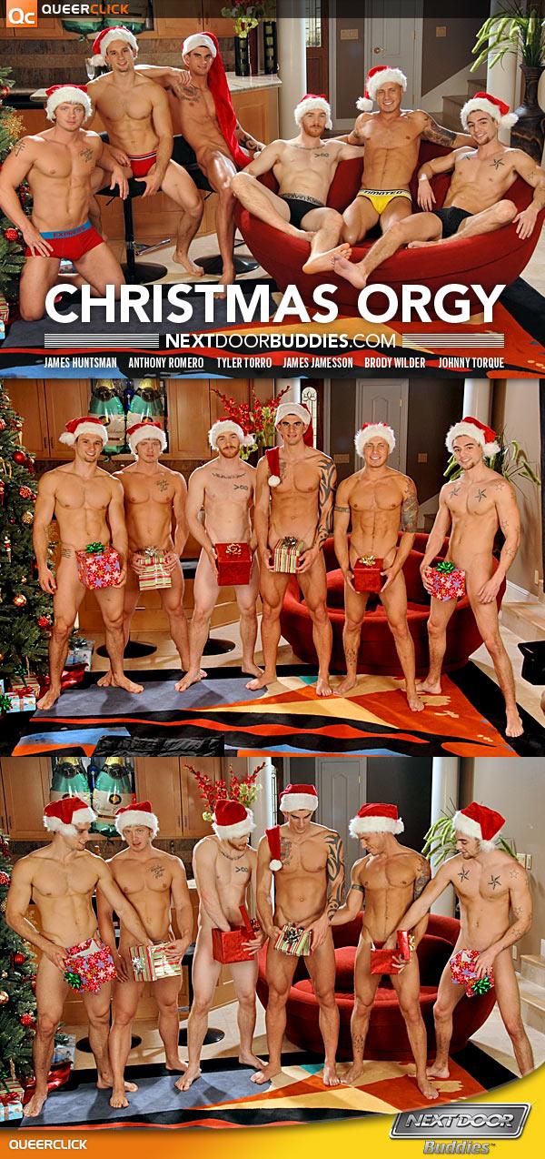 Next door buddies christmas orgy