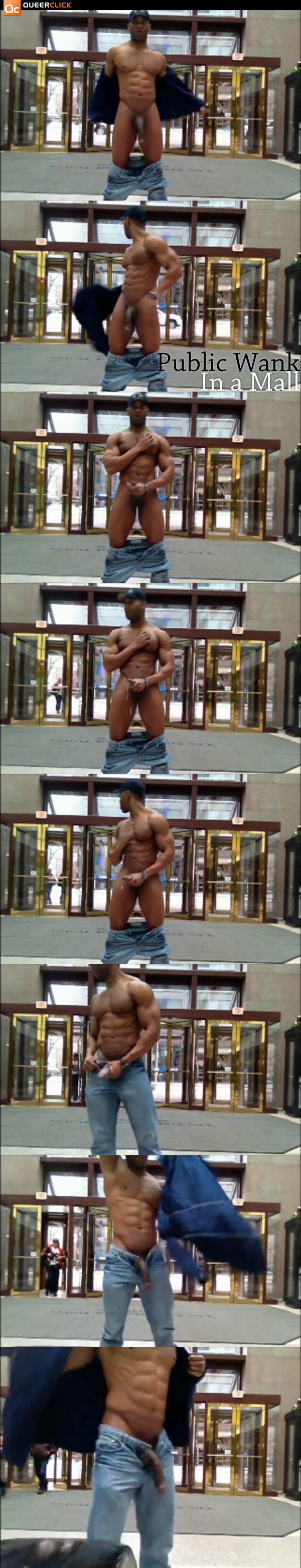 Wank: Small Mall Public J/O