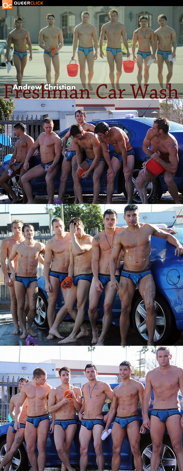 Andrew Christian: Freshman Car Wash
