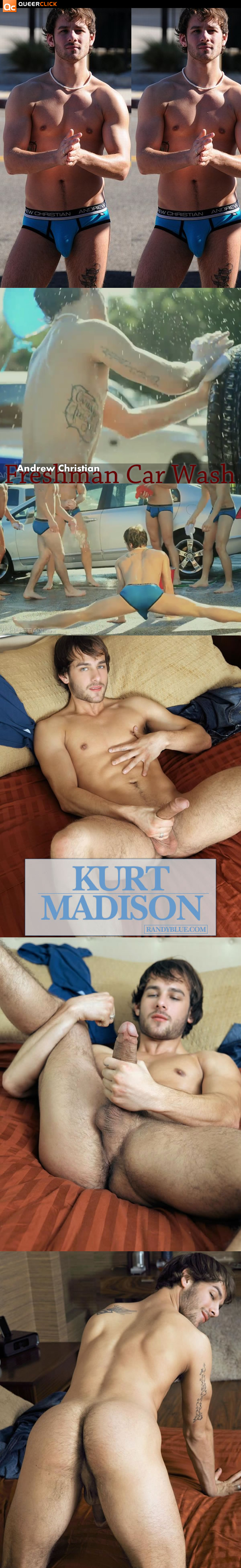Andrew Christian: Freshman Car Wash Kurt Madison