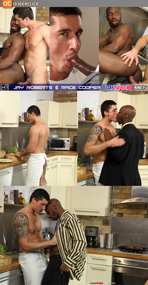 Jay Roberts & Race Cooper at UK Naked Men