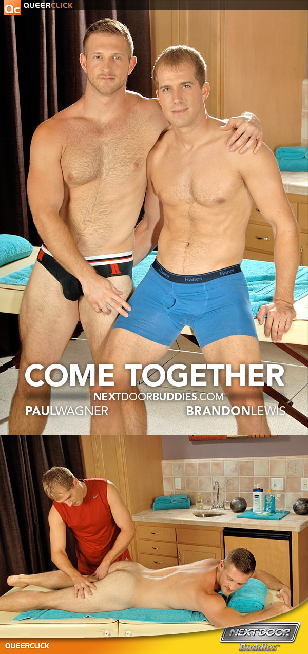 Next Door Buddies: Paul Wagner and Brandon Lewis