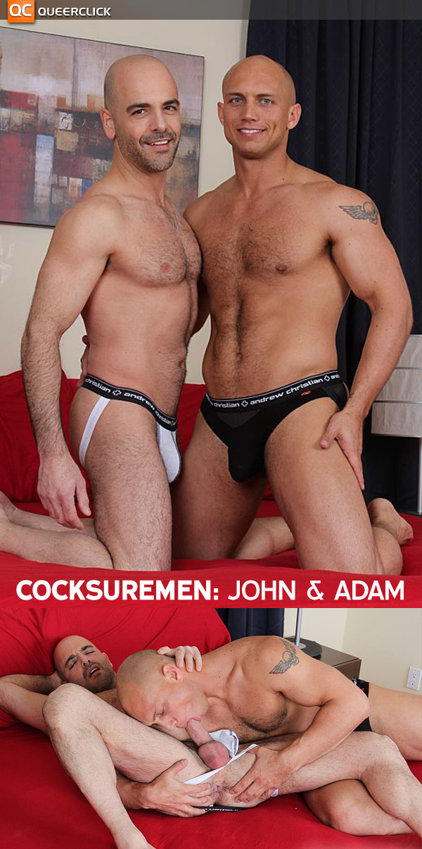 John Magnum & Adam Russo at Cocksure Men