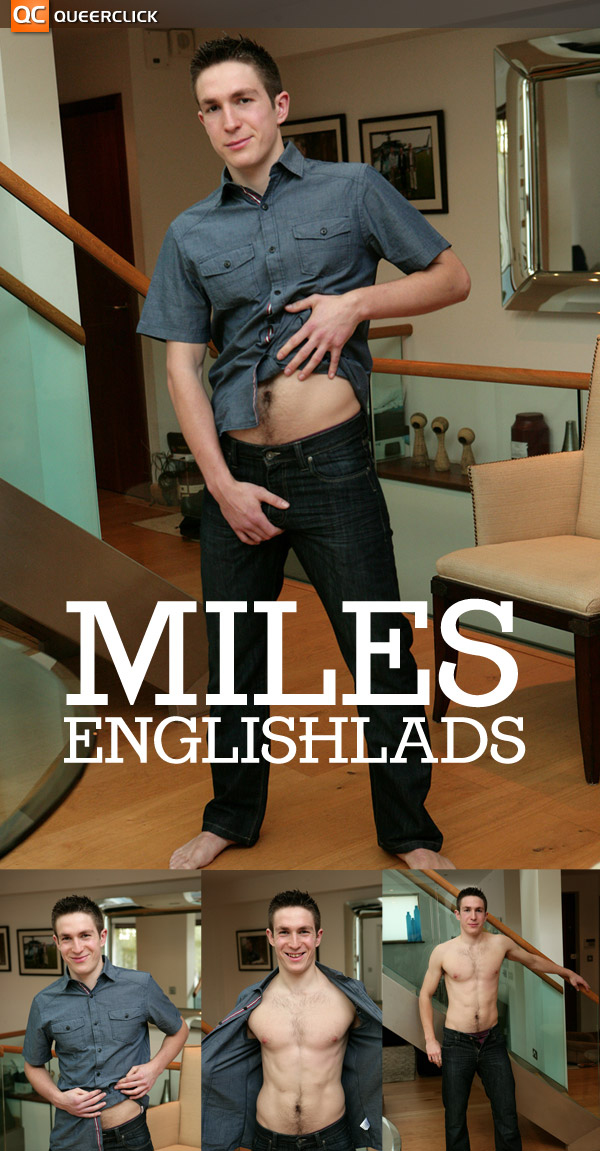 Miles at English Lads