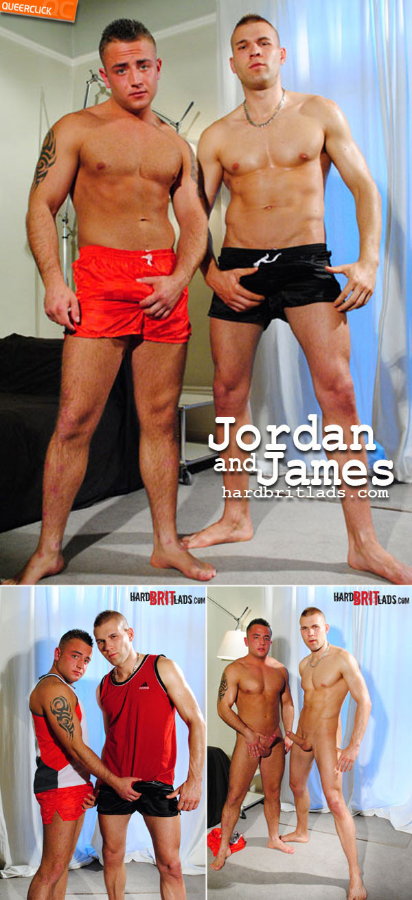 hard brit lads jordan james