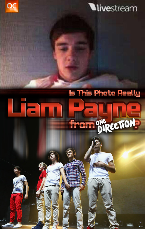 Is This Photo Really Liam Payne from OneDirection? - You be the judge!