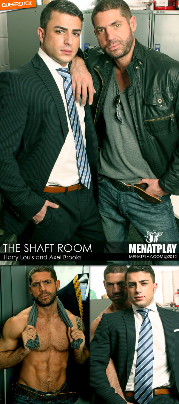 Men At Play: The Shaft Room - Harry Louis and Axel Brooks