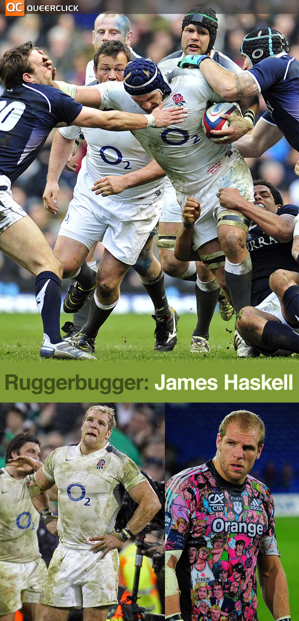 James Haskell at Ruggerbugger