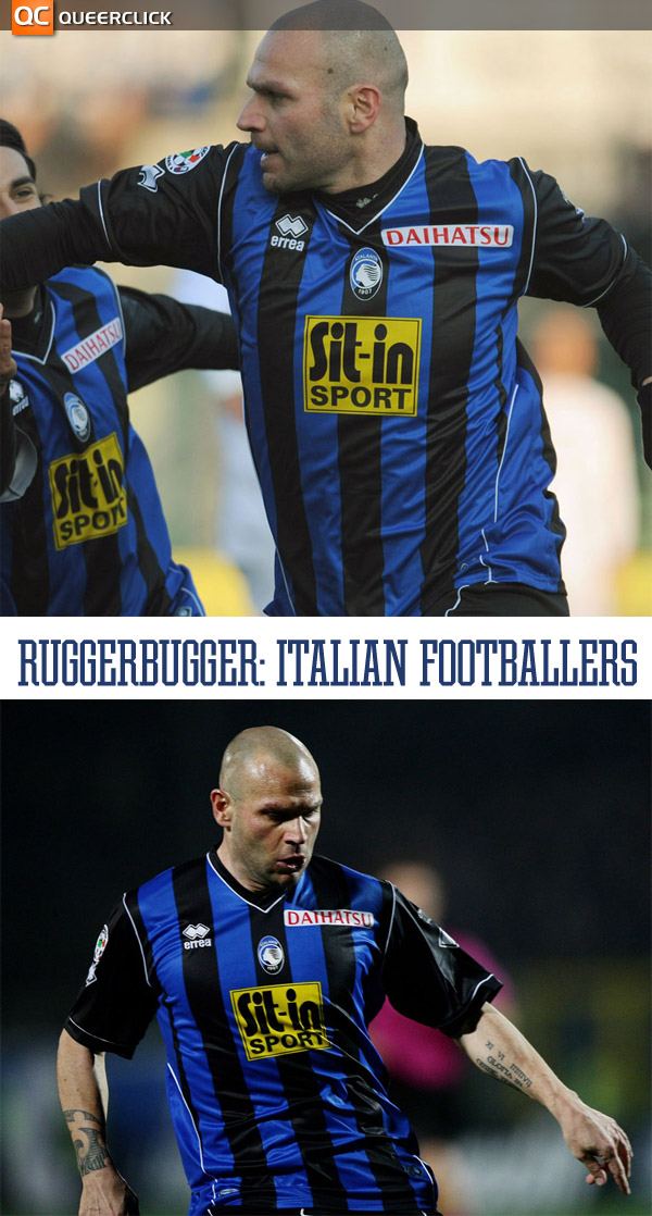 Italian Footballers at Ruggerbugger