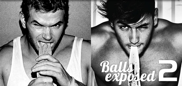 Kellan Lutz's Balls Exposed!