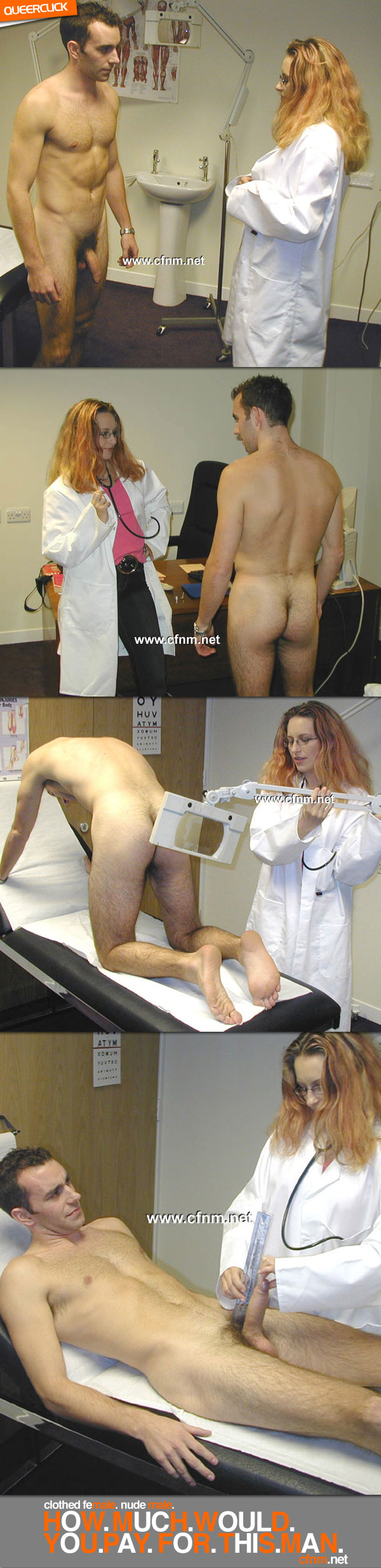 Doctor exam jerk off cum shot and college