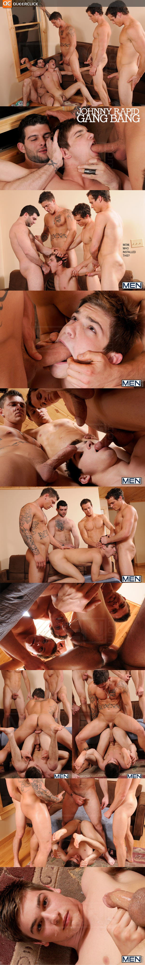 Men.com's Johnny Rapid Gang Bang