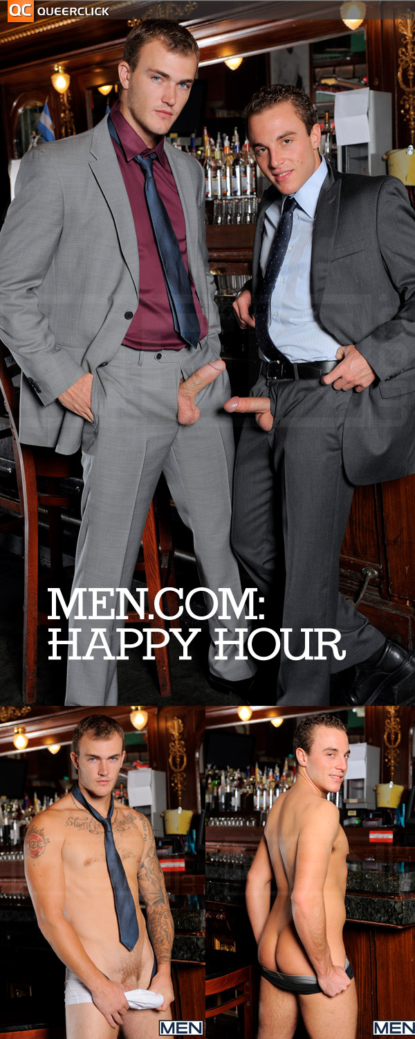 Happy Hour at Men.com