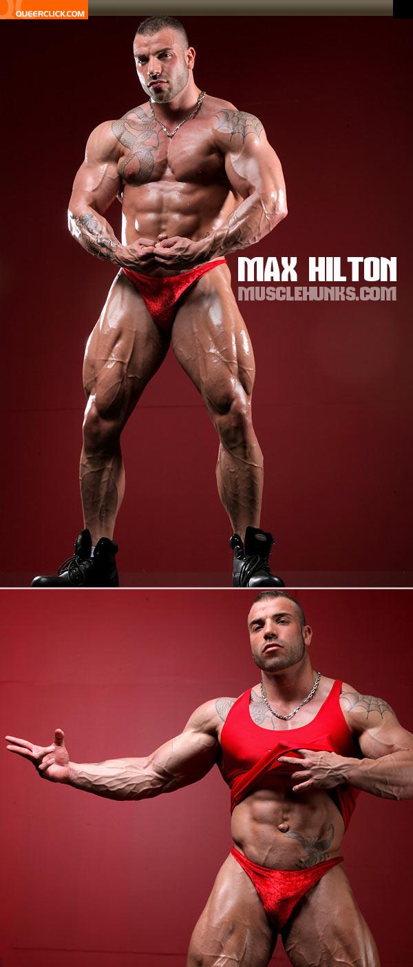 muscle hunks max hilton