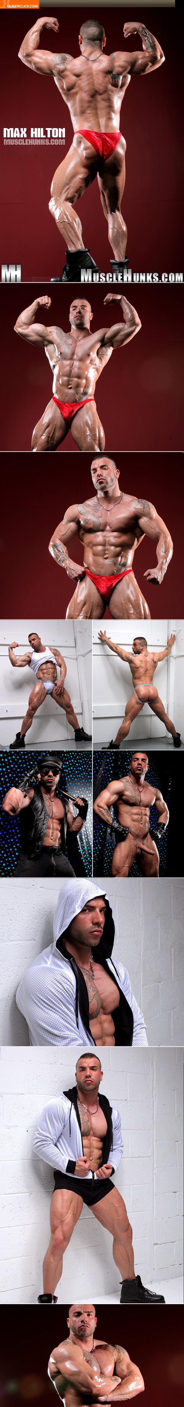 Muscle hunk max hilton phrase