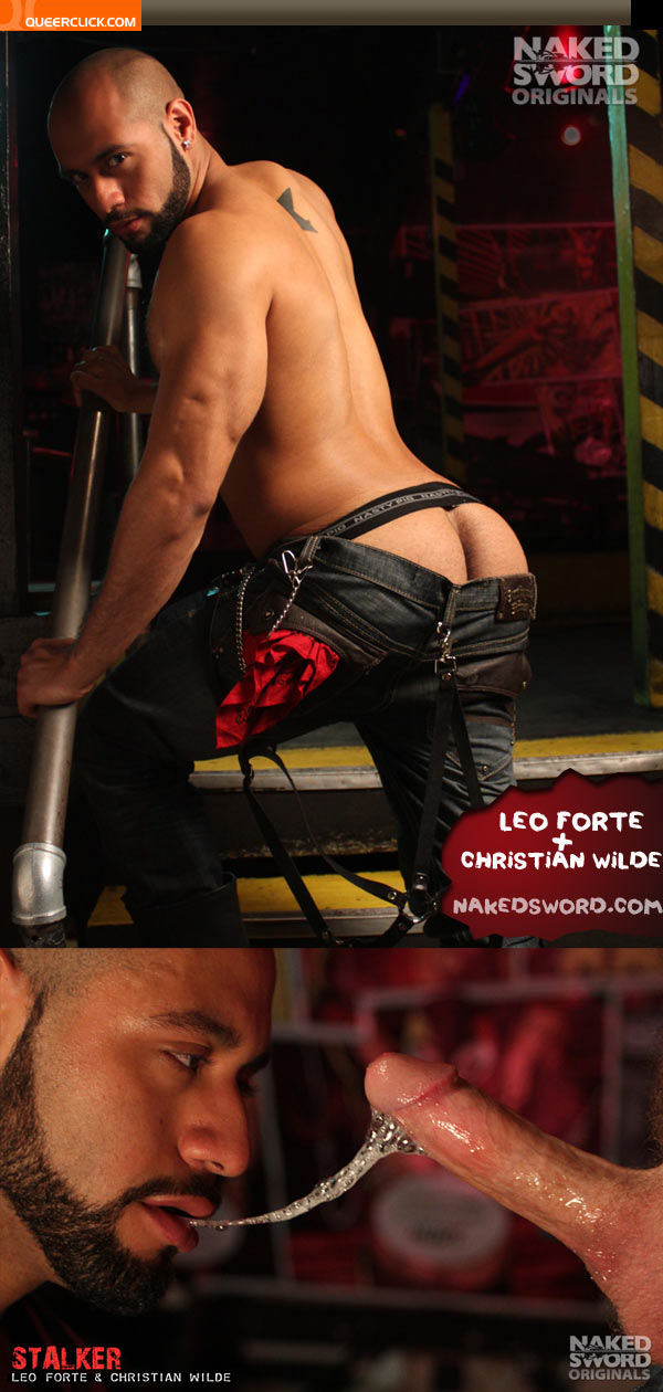 naked sword leo christian