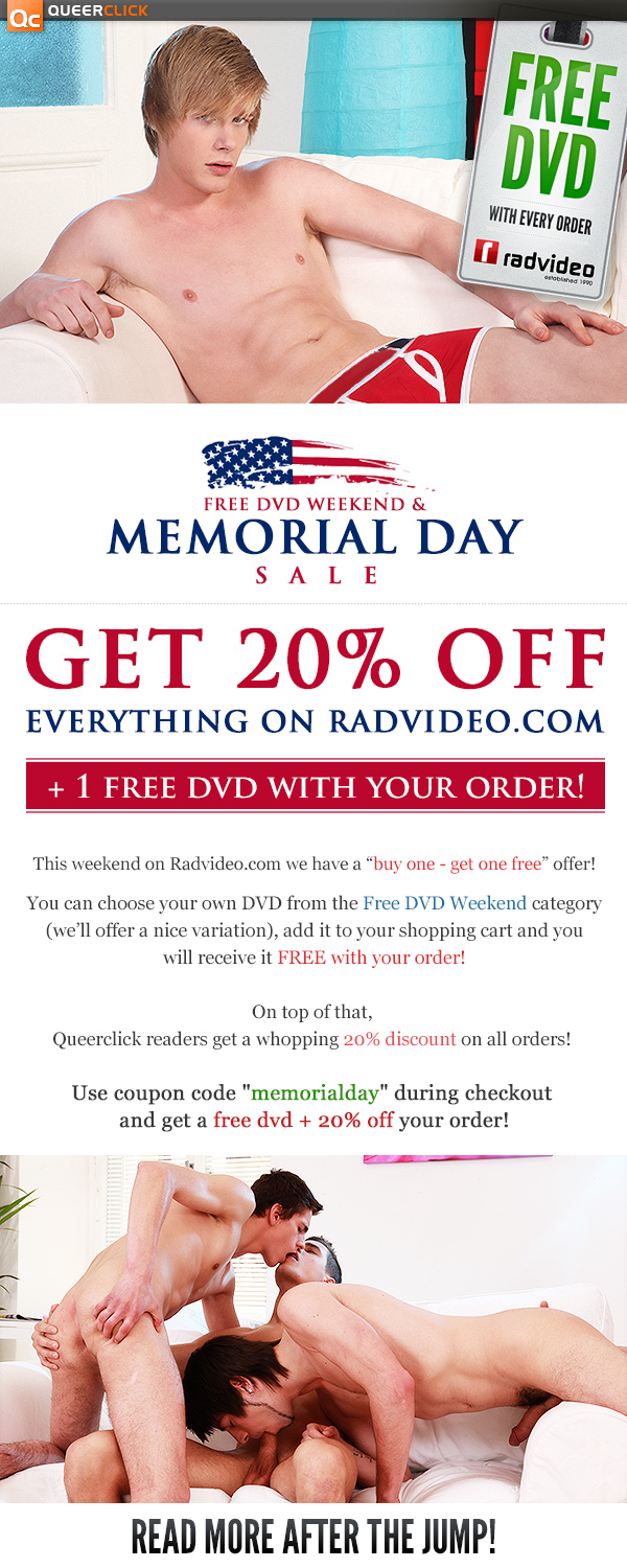 RadVideo Memorial Day Shopping Mania