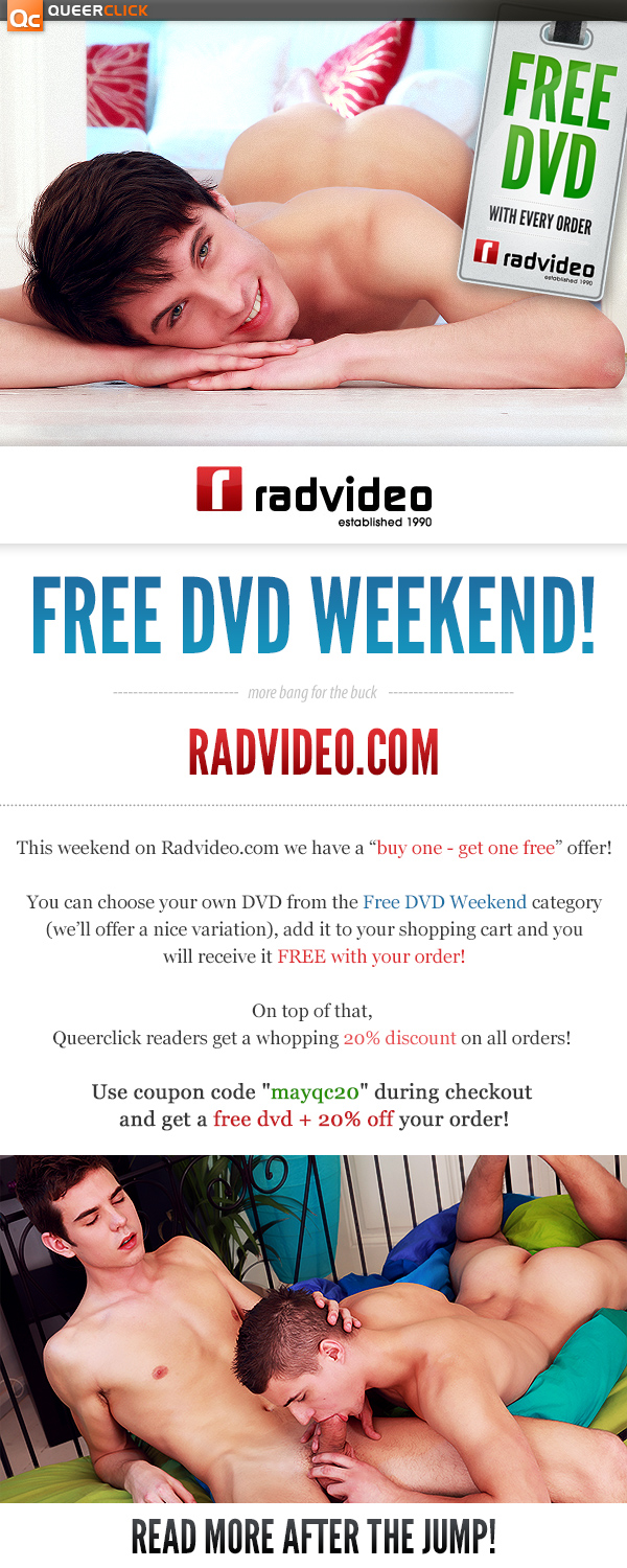 RadVideo: Free DVD Weekend!