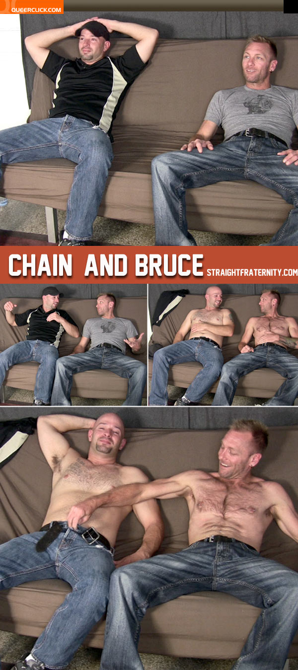straight fraternity chain bruce