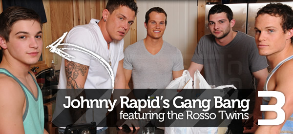 Men.com: Johnny Rapid Gang Bang!