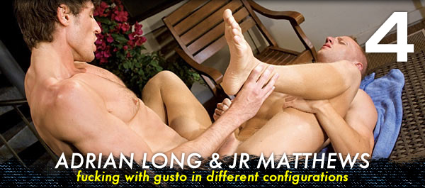 Jocks Studios: Adrian Long fucks JR Matthews