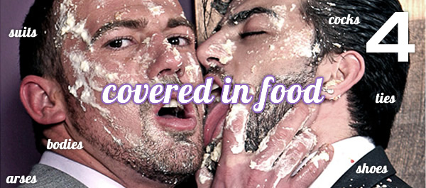 Men At Play: Food Fight
