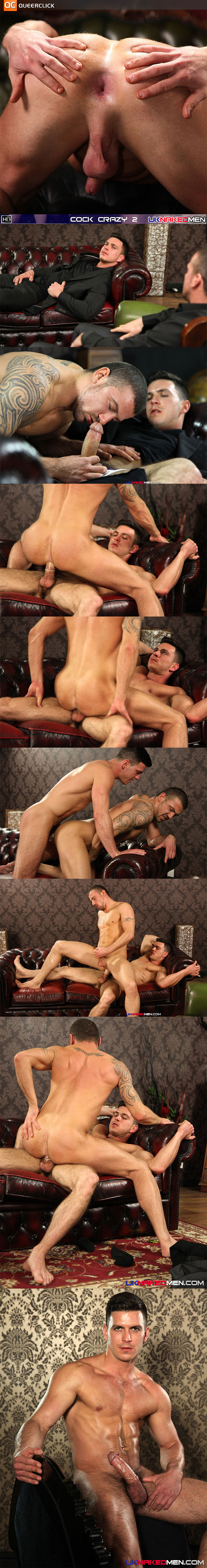 UK Naked Men's Paddy and Marco