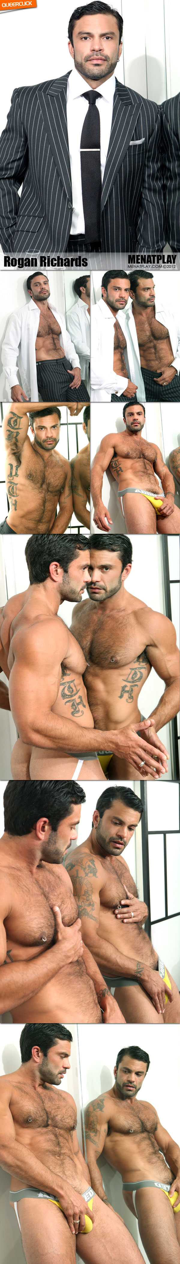 Men At Play: Introducing Rogan Richards