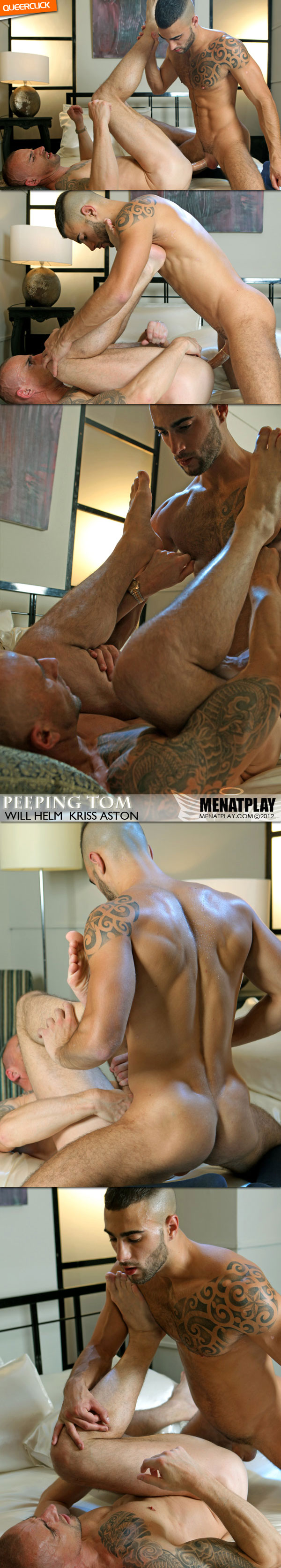 Men At Play: Peeping Tom - Will Helm and Kriss Aston