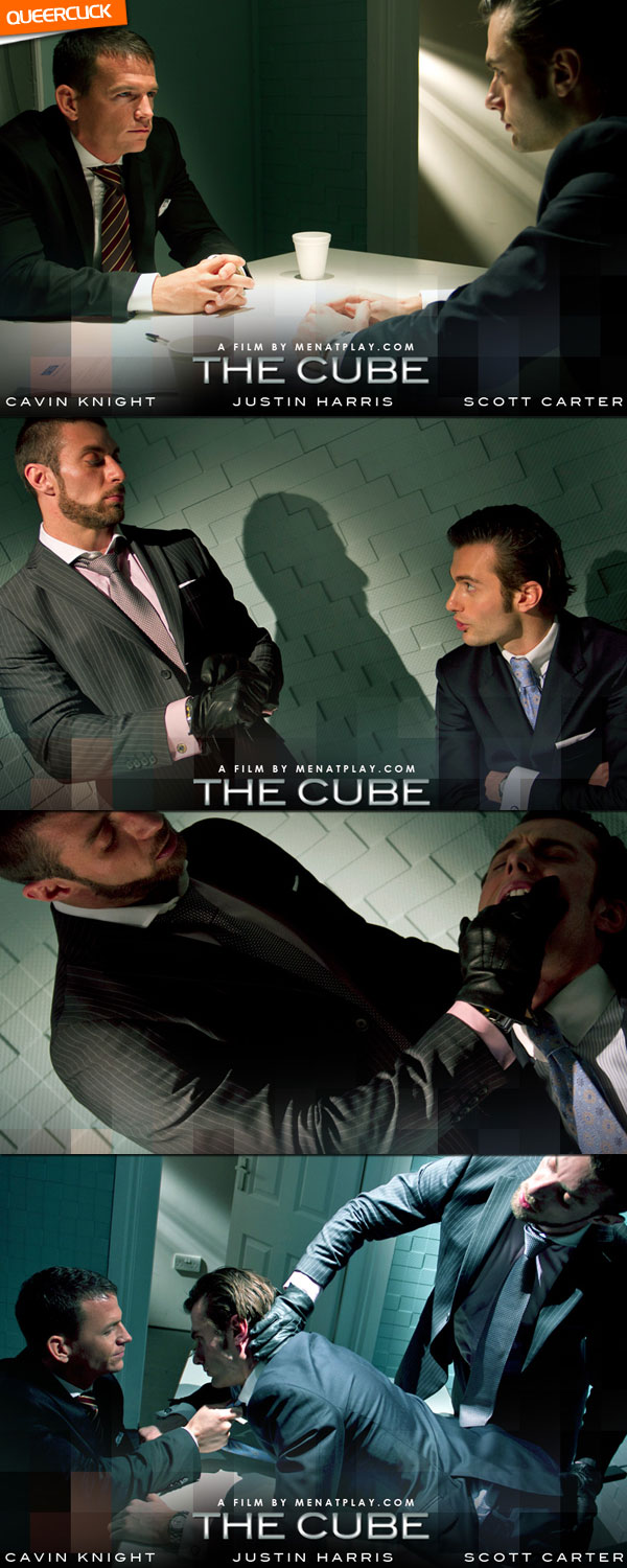 The Cube - Cavin Knight, Justin Harris and Scott Carter Cover