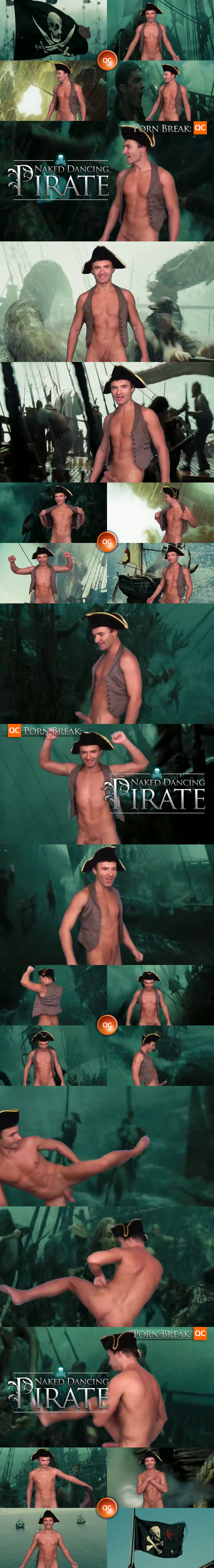 Porn: Naked Dancing Pirate!