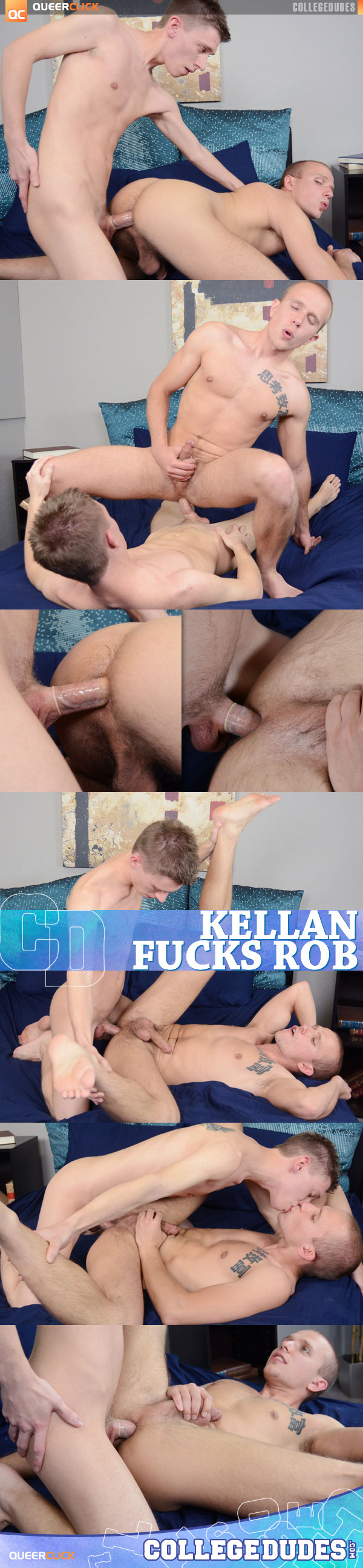 College Dudes: Kellan Lane Fucks Rob Ryder