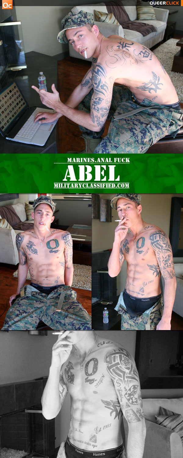 Military Classified: Abel's Anal Fuck