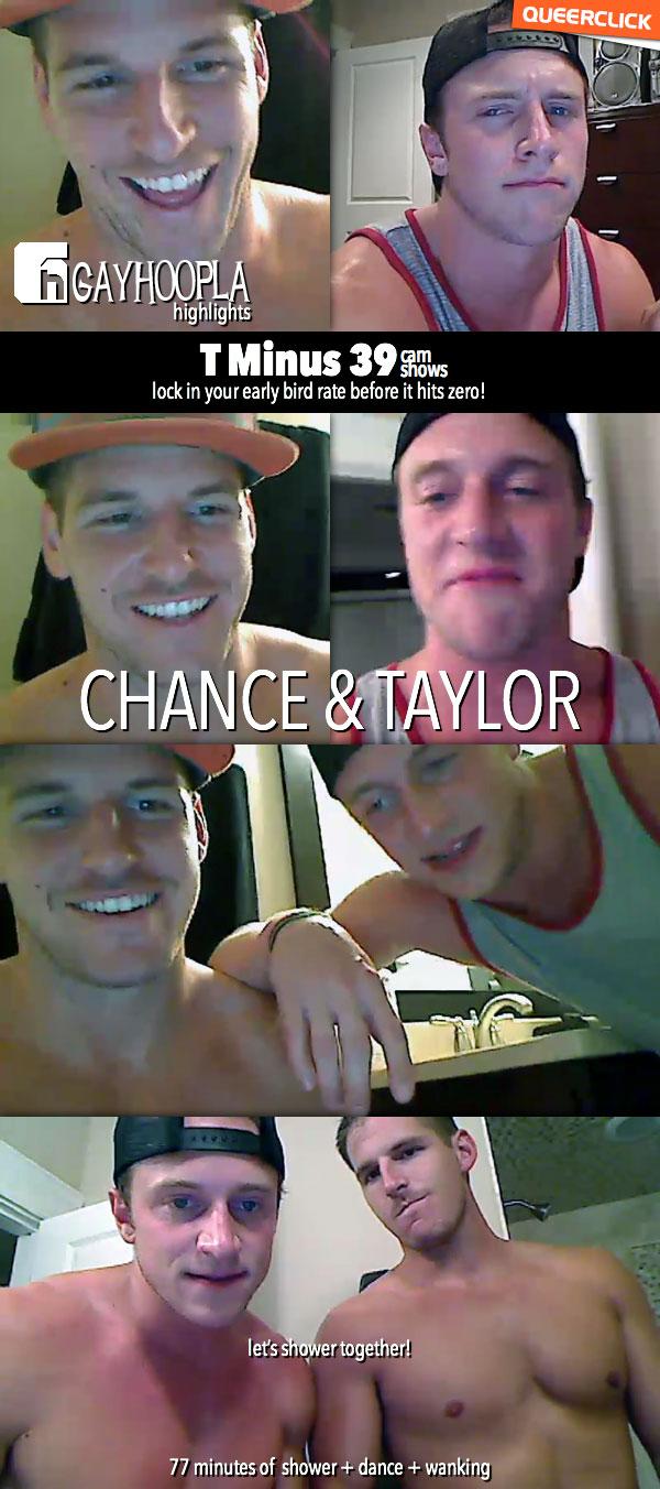 GayHoopla: @DocTayTay (Taylor) & Chance Cruise