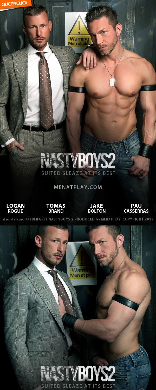 Men At Play: Nasty Boys 2 – Tomas Brand, Logan Rogue, Jake Bolton, Pau Casserras and Kayden Gray