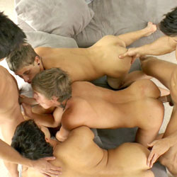 Bel Ami: Kris Evans with Kinky Angels (Part 2)