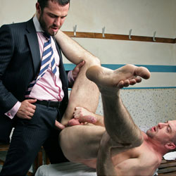 Men At Play: Locker Jock - Jessy Ares and Scott Hunter