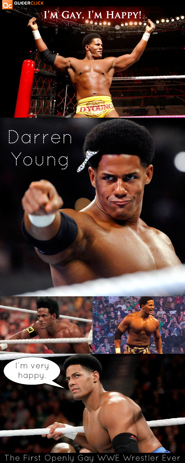 Darren young, wwe star, comes out as gay in impromptu interview
