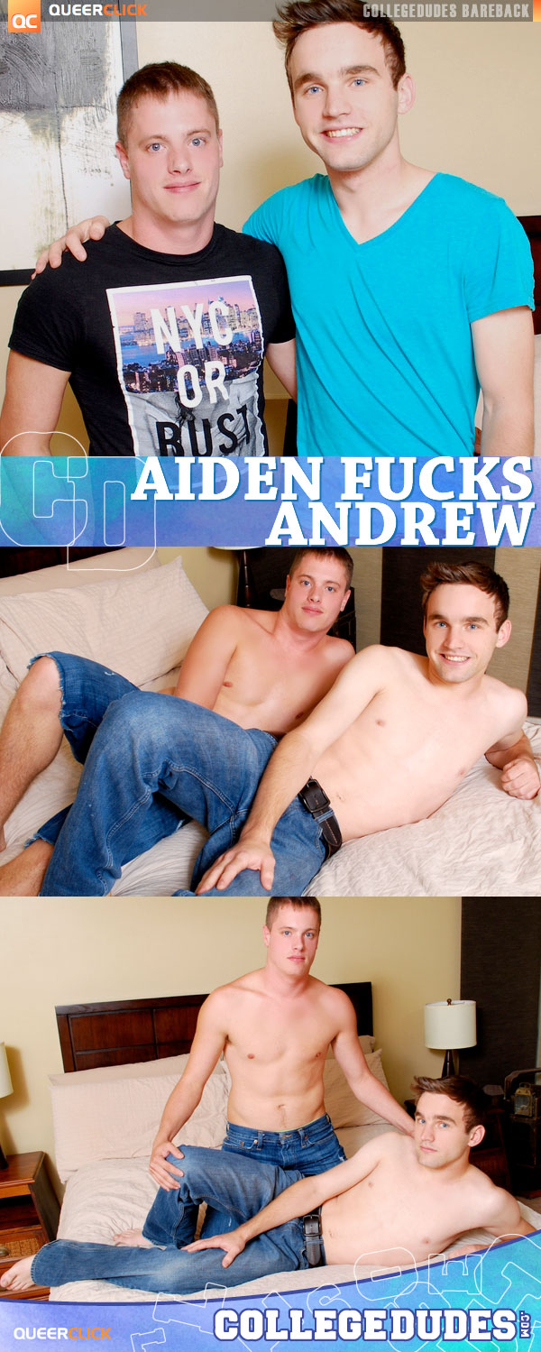 College Dudes: Aiden Lewis Fucks Andrew Collins