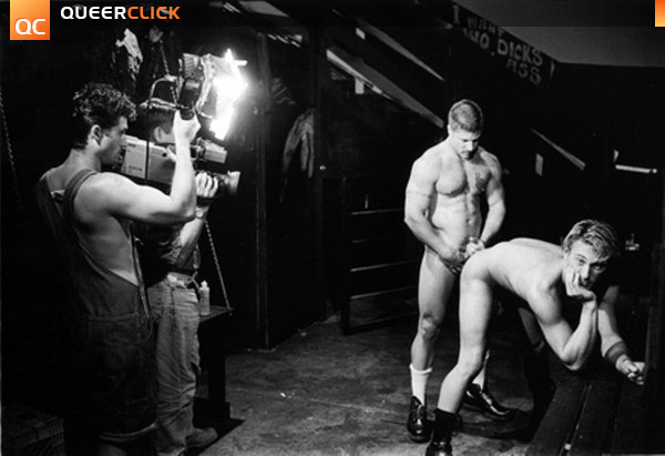 Фото со съемок гей порно