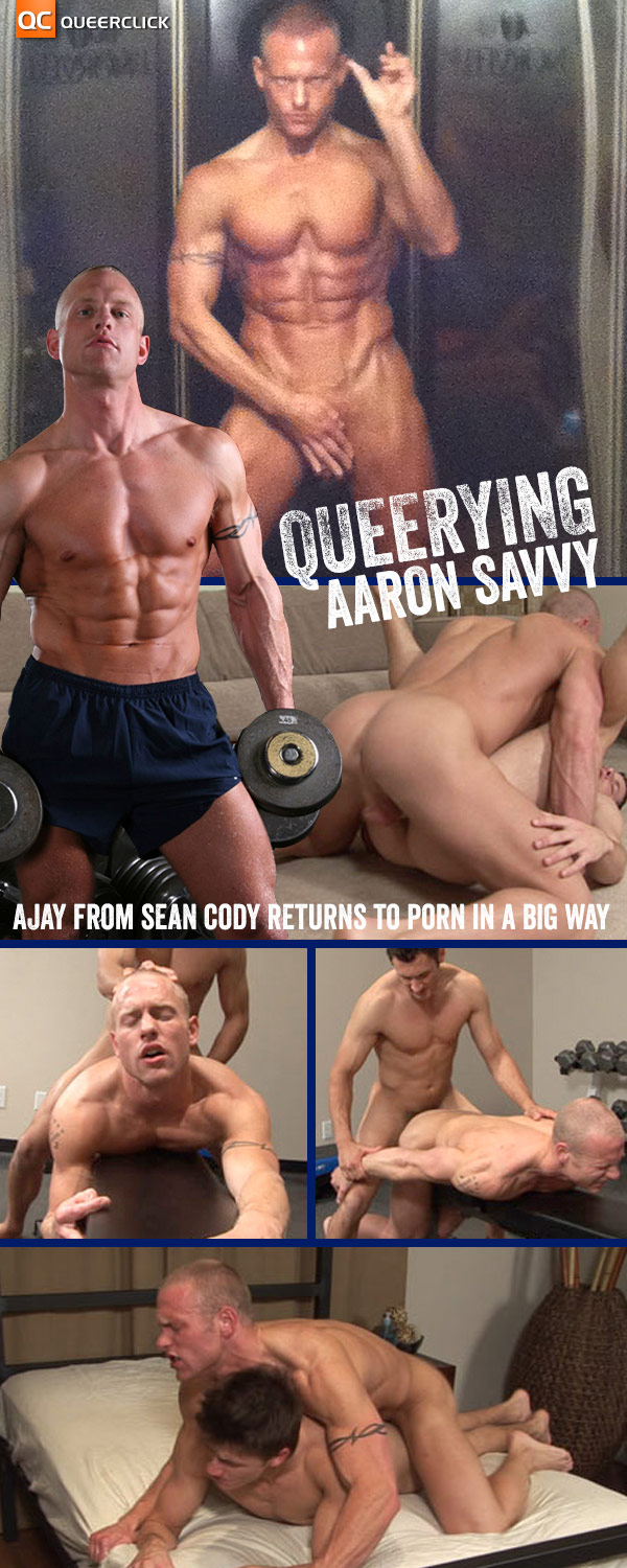 Queerying Aaron Savvy